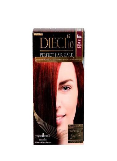 Dıecı Dıecı 10 Perfect Kit Saç Boyası 6,666 Yakut Kızılı Kırmızı